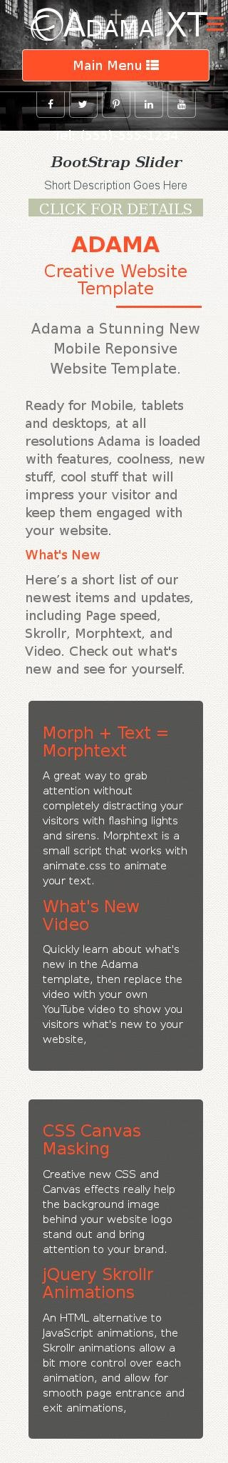 Mobile: Religion Web Template