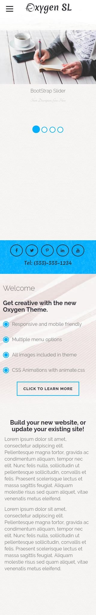Mobile: Business Dreamweaver Template