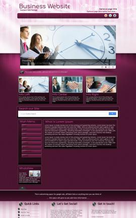 Transition Business Website Template