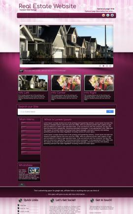 Transition Real-estate Website Template