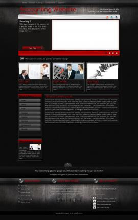 Foundation Accounting Website Template