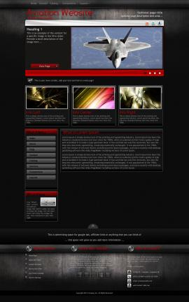 Foundation Aviation Dreamweaver Template