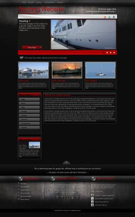 Foundation Boating Website Template