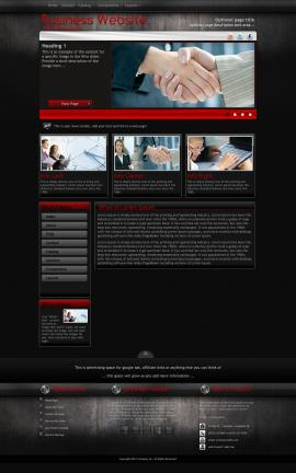 Foundation Business Website Template