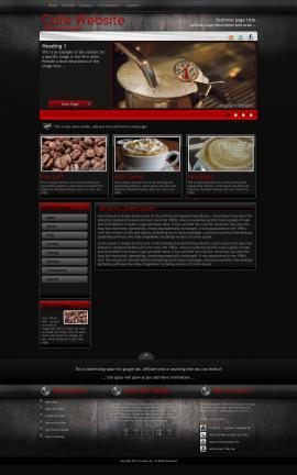 Foundation Cafe Website Template