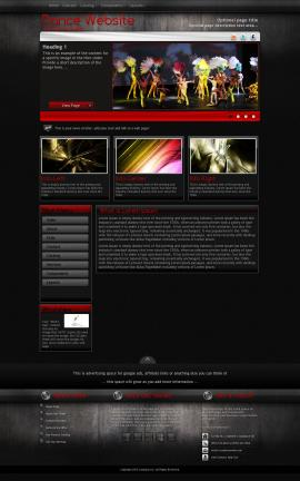 Foundation Dance Website Template