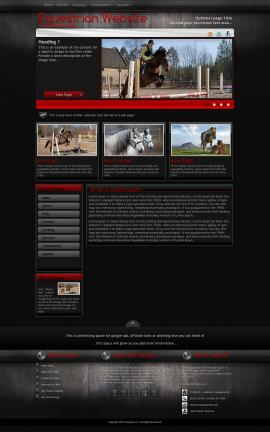 Foundation Equestrian Website Template
