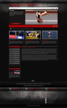 Foundation Gymnastics Website Template