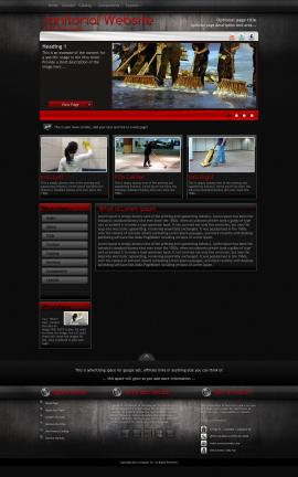 Foundation Janitorial Website Template
