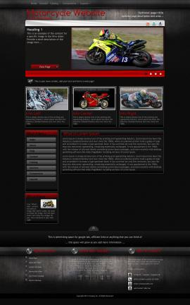 Foundation Motorcycle Website Template