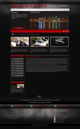 Foundation Photography Website Template