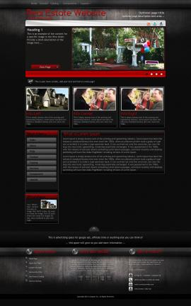 Foundation Real-estate Website Template