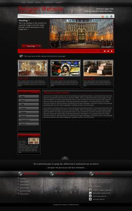 Foundation Religion Web Template