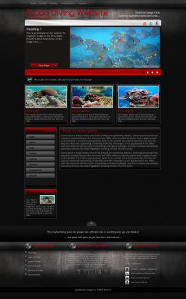 Foundation Scuba-diving Website Template