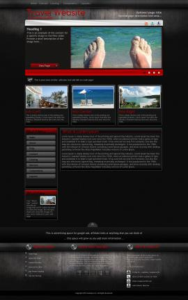 Foundation Travel Website Template