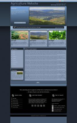 Accolade Agriculture Website Template