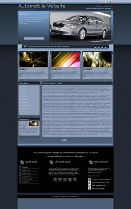 Accolade Automobile Website Template