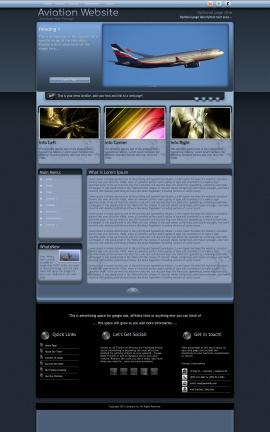 Accolade Aviation Dreamweaver Template