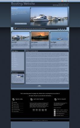 Accolade Boating Website Template