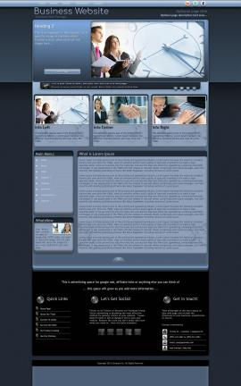 Accolade Business Website Template