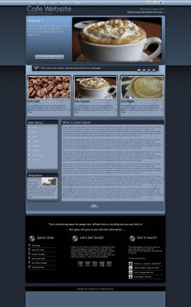 Accolade Cafe Website Template