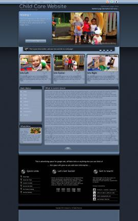 Accolade Child-care Website Template