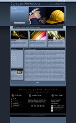 Accolade Construction Website Template