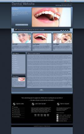 Accolade Dental Website Template