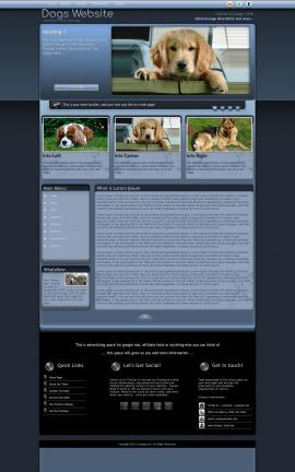 Accolade Dogs Website Template