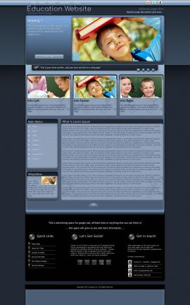 Accolade Education Website Template