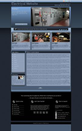 Accolade Electrical Website Template