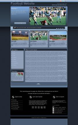 Accolade Football Website Template