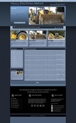Accolade Heavy-machines Website Template