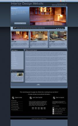 Accolade Interior-design Website Template