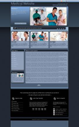 Accolade Medical Website Template