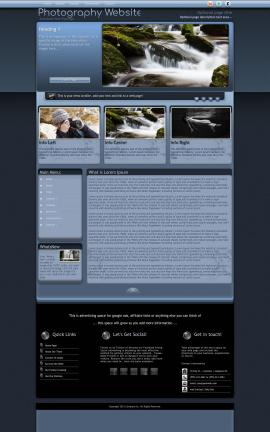 Accolade Photography Website Template