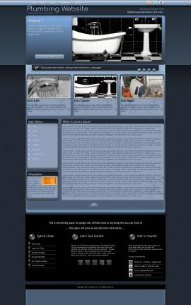 Accolade Plumbing Website Template
