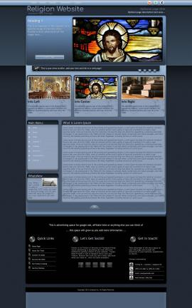 Accolade Religion Website Template