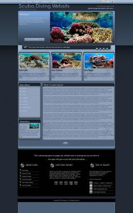 Accolade Scuba-diving Website Template
