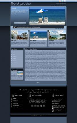 Accolade Travel Website Template