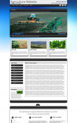 Motive Agriculture Website Template