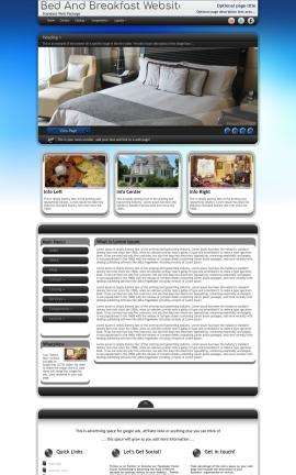 Motive Bed-and-breakfast Website Template