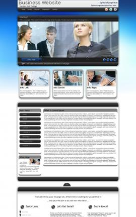 Motive Business Dreamweaver Template