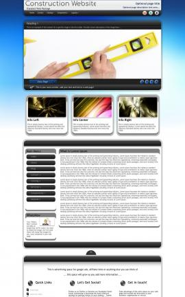 Motive Construction Website Template