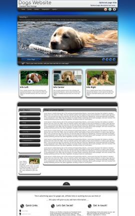 Motive Dogs Website Template