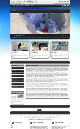 Motive Janitorial Website Template