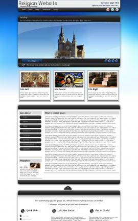 Motive Religion Web Template