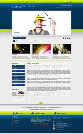 Infusion Construction Website Template