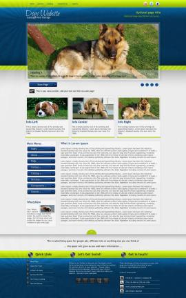Infusion Dogs Website Template