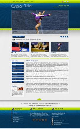 Infusion Gymnastics Website Template